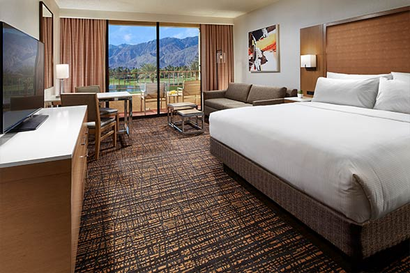 doubletree palm springs golf resort