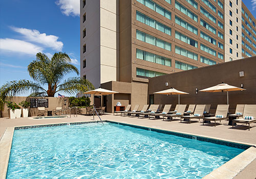hilton mission valley san diego sports travel hotel