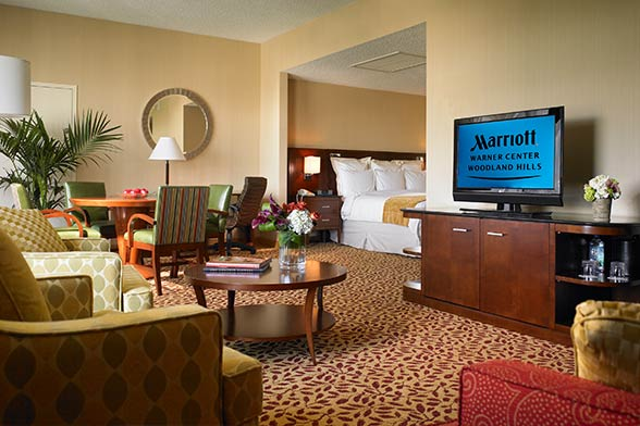 warner center marriott los angeles sports travel hotel
